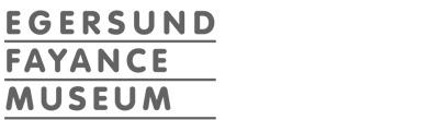 Logoen til Egersund Fayancemuseum