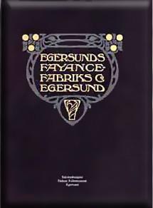 Forsiden av Egersunds Fayancefabriks priskurant fra 1909