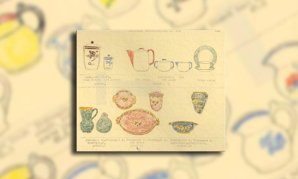 Eksempel på side fra katalog 1937 B