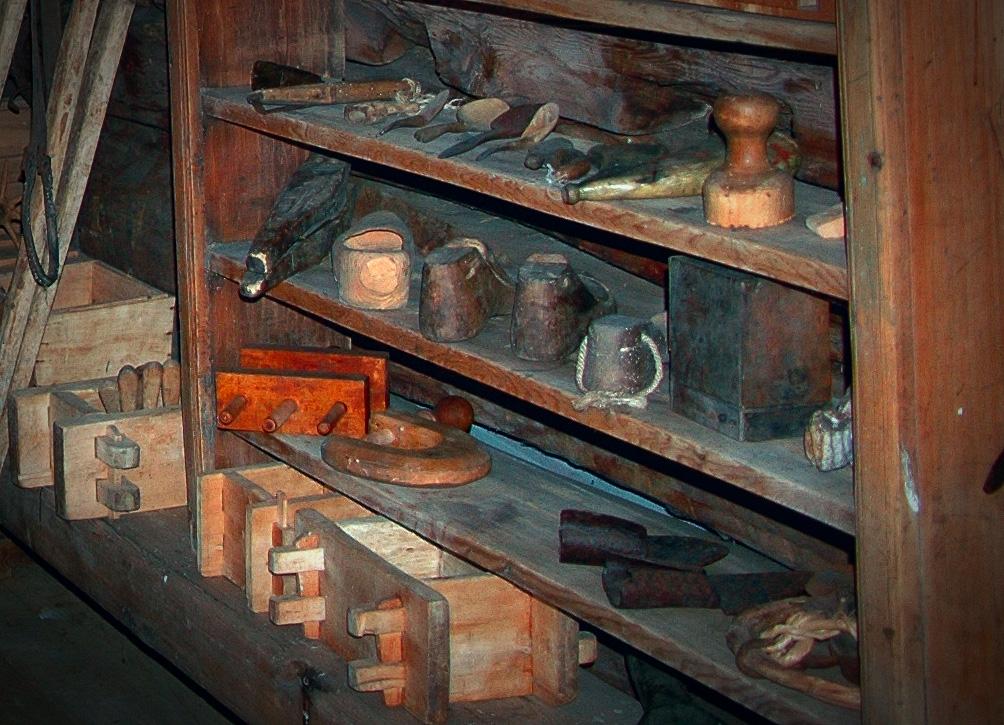 Deler av utstillingen på Austrumdal Gardsmuseum