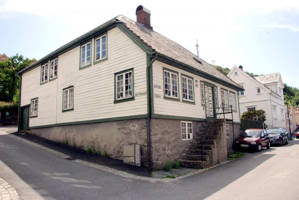 Bilde av Bilstadhuset i Egersund. Foto: Torbjørn Bøe