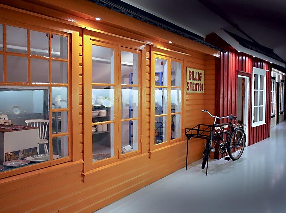 En fajansebutikk slik den kan ha sett ut.