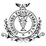 Stempel fra A/S Egersunds Fayancefabriks Co. cirka 1890-1920