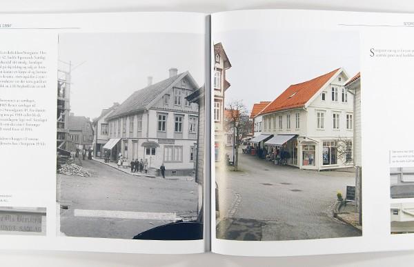 Egersund - 120 år gjennom kameraøyne. Eksempel på innhold.